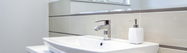 wastafel moderne badkamer